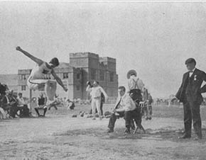 St. Louis olympics in 1904
